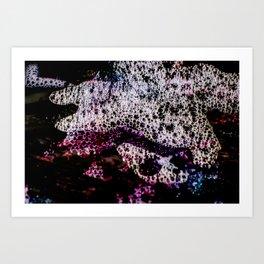 Luminous Starfish | Abstract Photography Art Print