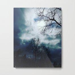 Cloudy skys Metal Print