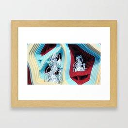 Hugg-a-Diddle Burs Framed Art Print