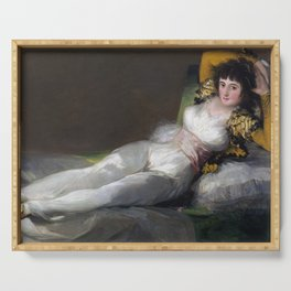 Francisco Goya - The Clothed Maja Serving Tray