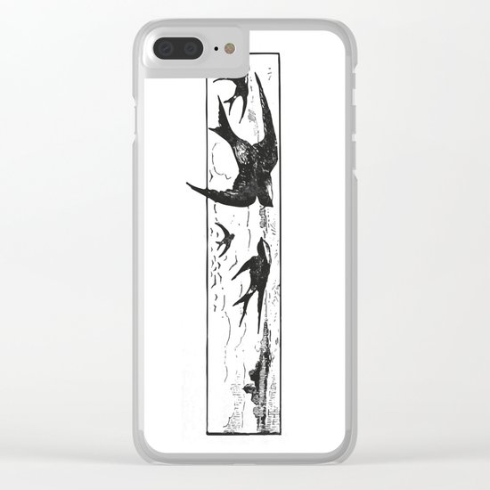 Sparrow Clear iPhone Case
