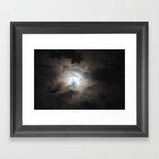 Fullmoon Framed Art Print