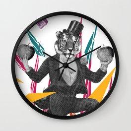 An-mazing magician  Wall Clock