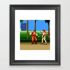 FF Framed Art Print