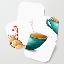 Gingerbread cappuccino Coaster