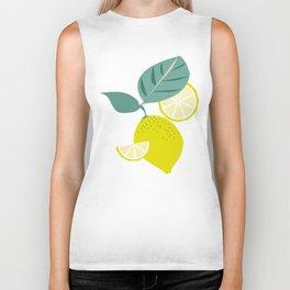 Lemons and Slices Biker Tank