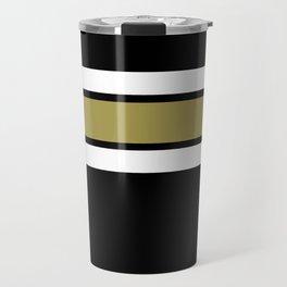 TEAM COLORS 2....Gold Travel Mug