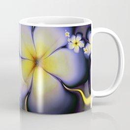 Petite Fleur Jaune Fractal Coffee Mug