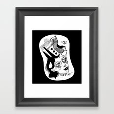 Skateopolis Framed Art Print