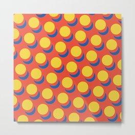 Wanna-Be Roy Lichtenstein Pattern Metal Print