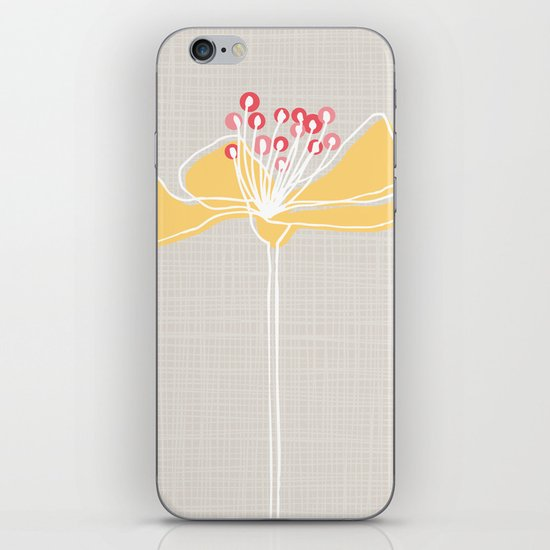 Cherry Blossom: Stone iPhone & iPod Skin