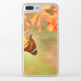 Monarch Clear iPhone Case