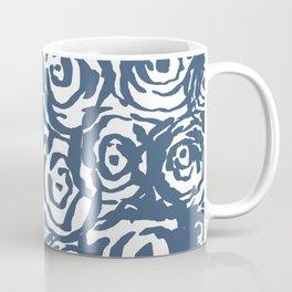 Navy Flower Bundle Coffee Mug
