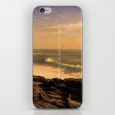 Be who you are and be that well. iPhone & iPod Skin