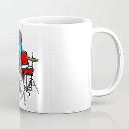 Salty Raven Drummer from Flock of Gerrys Coffee Mug