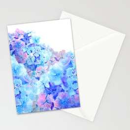 mountain of hydrangea Stationery Cards