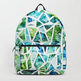 Coastal Mosaic Bright Backpack