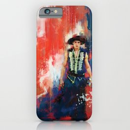 The Masked Bandit iPhone Case