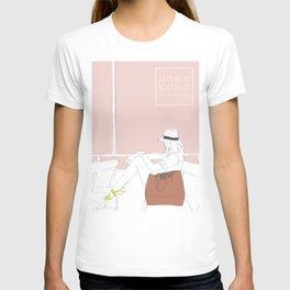 Star Ferry, Hong Kong Travel Poster T-shirt