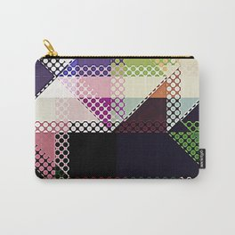Pattern Multi Color Abstract Carry-All Pouch