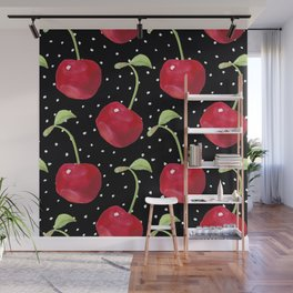 Cherry pattern III Wall Mural