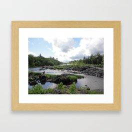Before the Bridge Framed Art Print