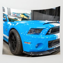 2013 Widebody Prototype Shelby GT500 Super Snake (Brenizer/Pano) Wall Tapestry