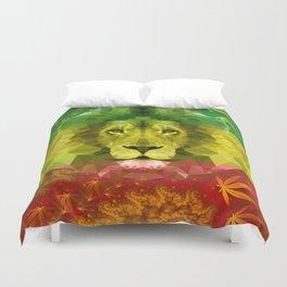 Rasta Lion Duvet Cover