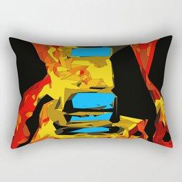San Antonio Electric Rectangular Pillow