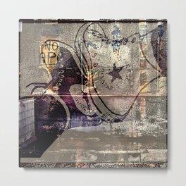 High Street II. Metal Print
