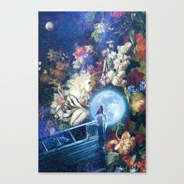 Sailing the Milky Way Canvas Print