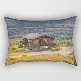Badlands Overlook, Theodore Roosevelt NP, ND 29 Rectangular Pillow