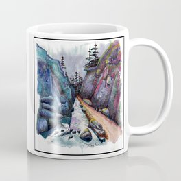 Eleven MiIe Canyon with text Coffee Mug