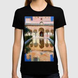 Joaquin Sorolla y Bastida Hall of the Ambassadors, Alhambra, Granada T-shirt