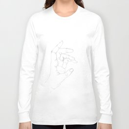 Hand drawing Long Sleeve T-shirt