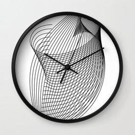 """Script Collection"" - Minimal Letter L Print Wall Clock"