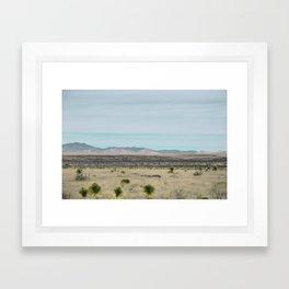 Marfa Miles Framed Art Print