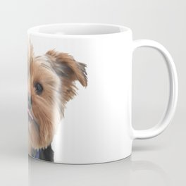 Yorkie Sticking Tongue Out | Dogs | Nadia Bonello Coffee Mug