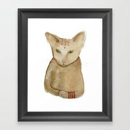 Totem Kitteh 1 Framed Art Print