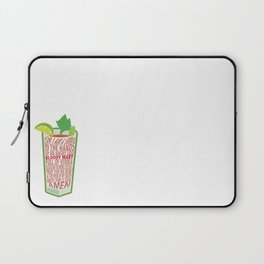 Bloody Mary Blessed of Cocktails Laptop Sleeve