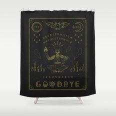 Ouija Board Shower Curtain