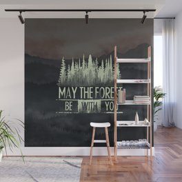 Be With You Wall Mural
