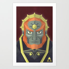 The King of Darkness Art Print
