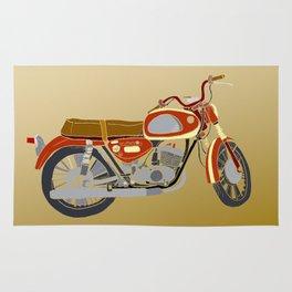 Vintage Motorcycle Gems II Rug