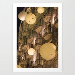 Majestic Lights Art Print