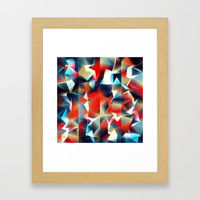 Tetrakiss Framed Art Print