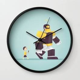 the robot my dad never gave me Wall Clock