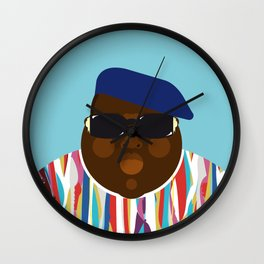 Notorious V Wall Clock