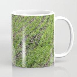 Tractor plowed field and arable land Coffee Mug