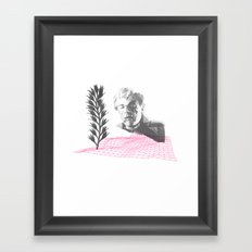 oh my own singularity Framed Art Print